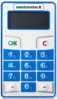 votazione elettronica modello MINI mentometer