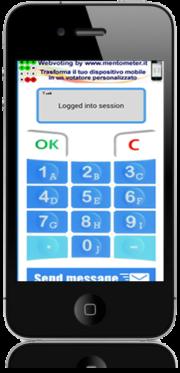 votazione elettronica con smartphone