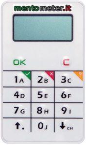 votazione elettronica modello ULTRA mentometer